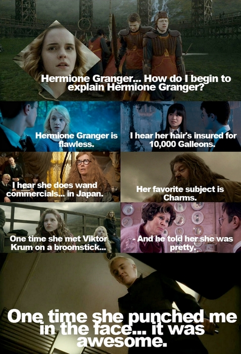 Funny Harry Potter And Hermione Memes : The funniest harry potter gifs and images cinema vine