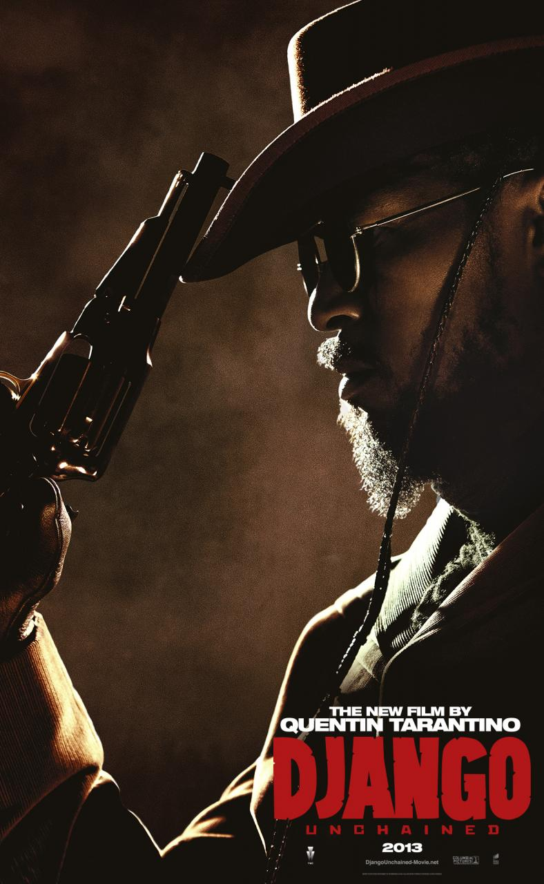 Five Character Posters for DJANGO UNCHAINED – Cinema Vine