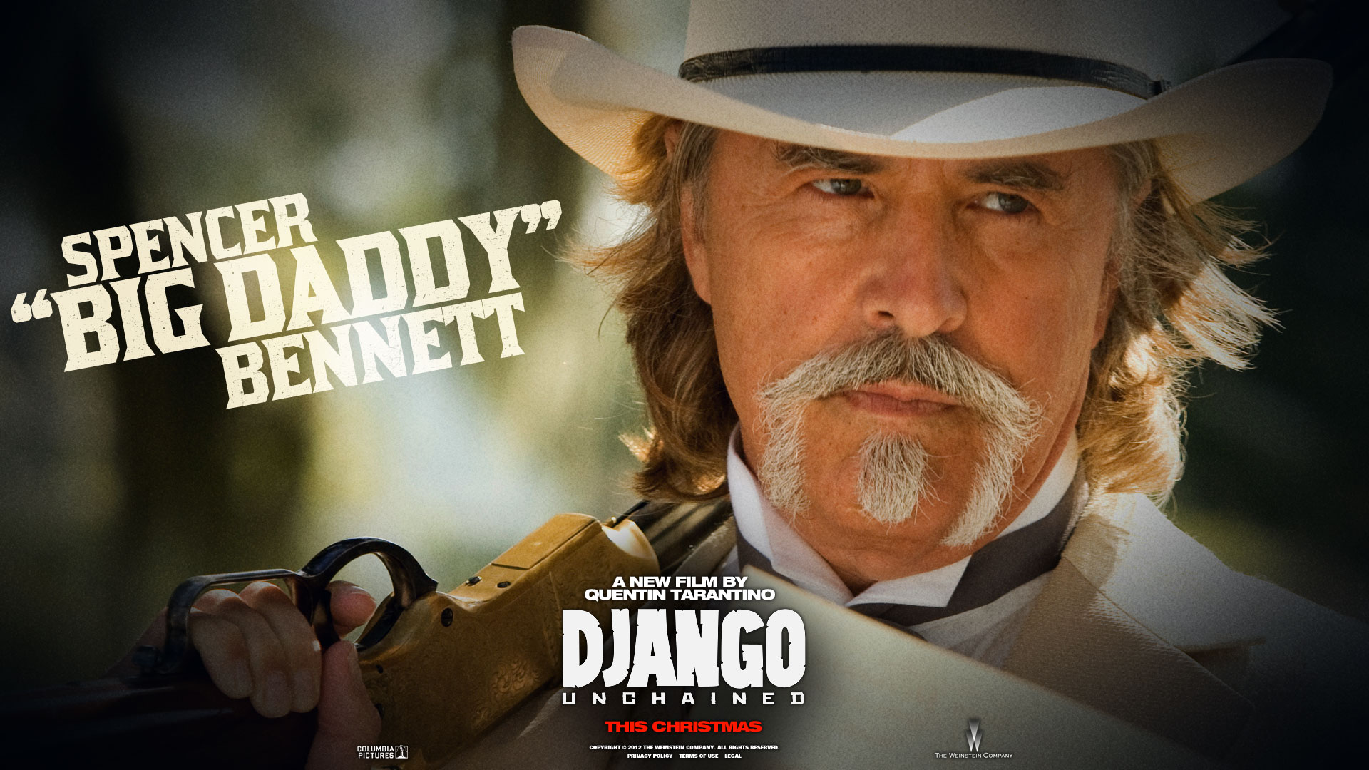 5363115506486e New Preview and Character Wallpapers for DJANGO UNCHAINED – Cinema Vine