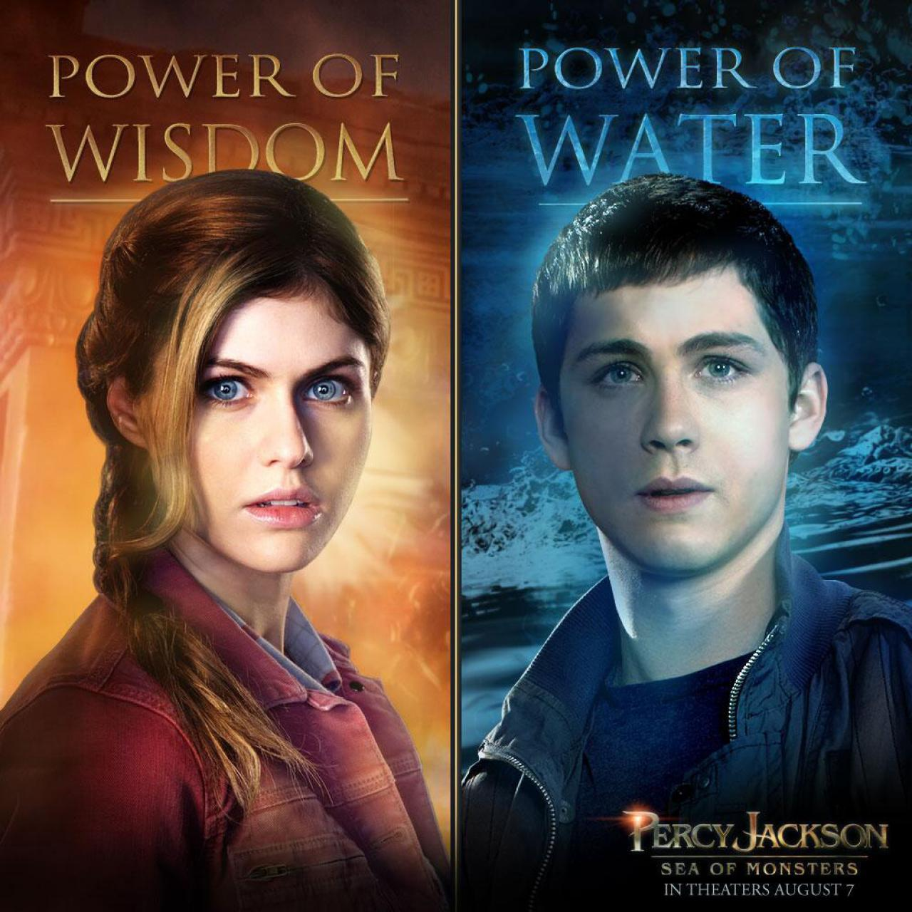 new character posters for �percy jackson sea of monsters