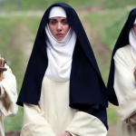 Poster for 'The Little Hours' Featuring John C. Reilly, Alison Brie & Aubrey Plaza