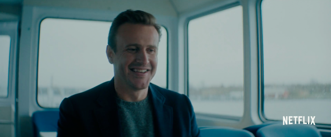 Image result for jason segel the discovery stills