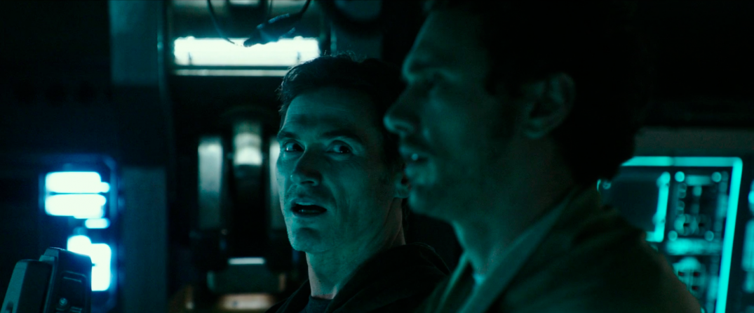James Franco and Billy Crudup in Alien Covenant Movie Images