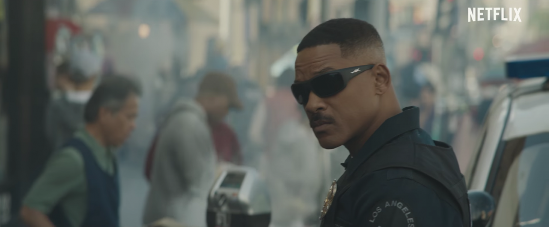 Will Smith in Netflix's Bright Movie David Ayer