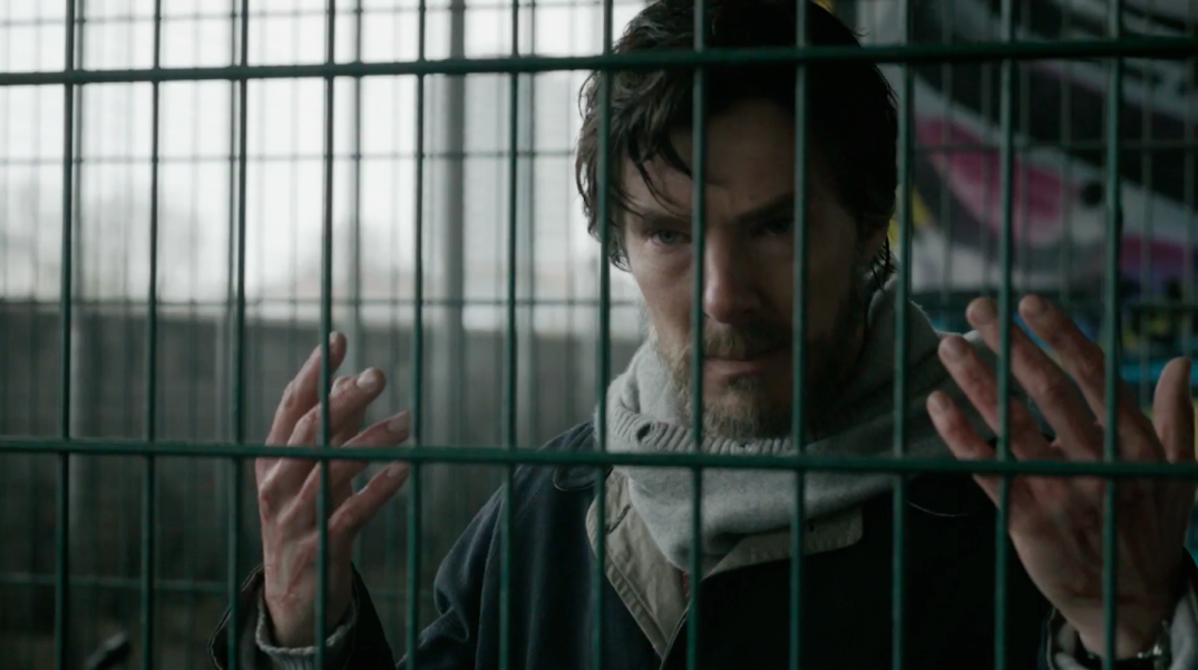 Benedict Cumberbatch in Doctor Strange Blu Ray