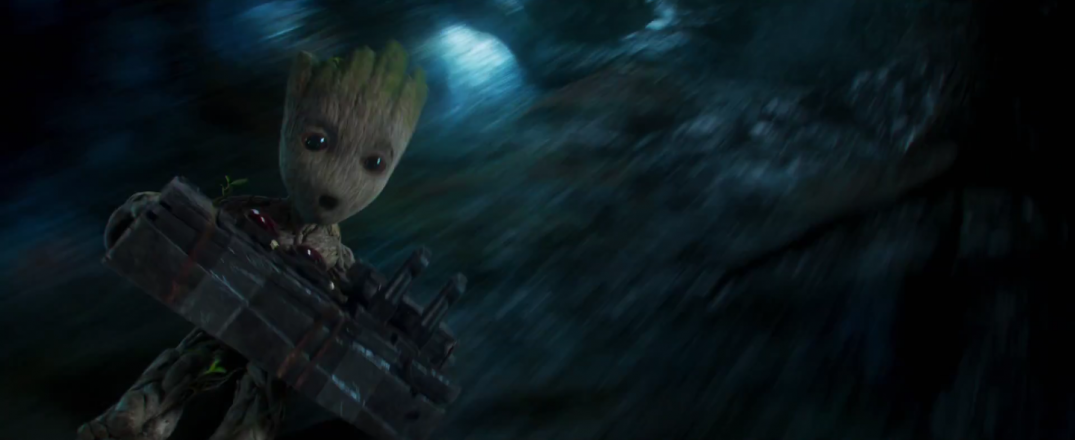 Baby Groot in Guardians of the Galaxy Vol.2