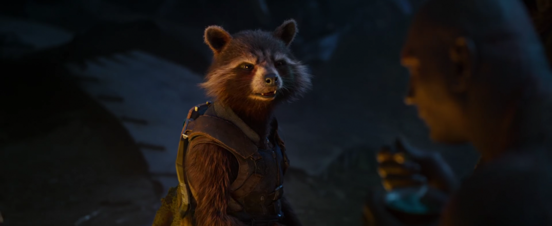 Guardians of the Galaxy Vol 2 Movie Images Screencaps Rocket Raccoon