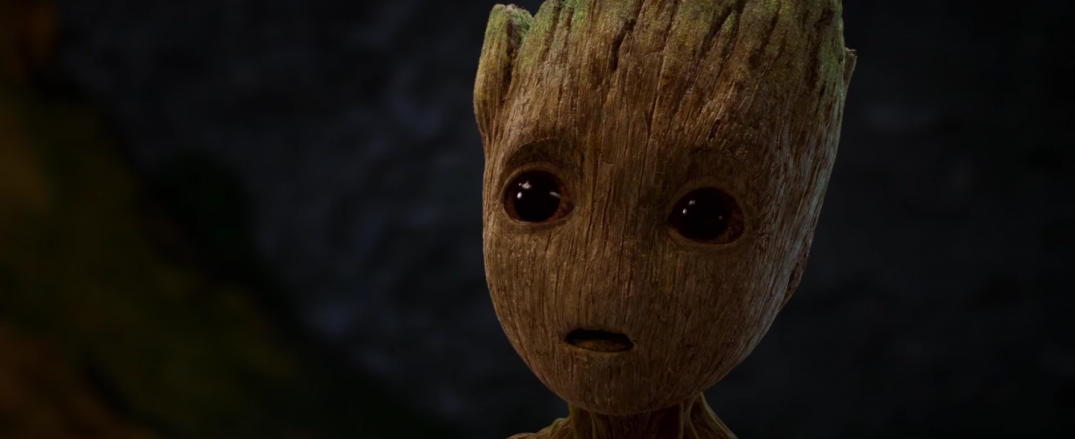 Guardians of the Galaxy Vol 2 Movie Images Screencaps Baby Groot