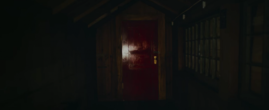 It Comes At Night Horror Film Movie Image Red Door