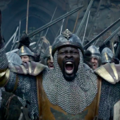 Djimon Honsou in King Arther: Legend of the Sword Movie
