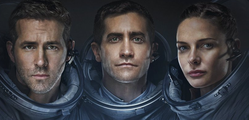 LIFE Movie Sci-fi Horror Starring Rebecca Ferguson, Jake Gyllenhaal and Ryan Reynolds