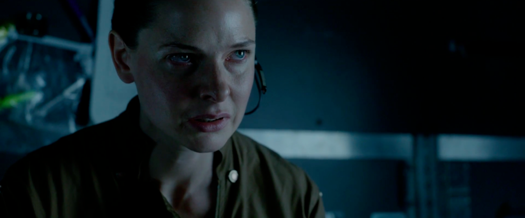 Rebecca Ferguson in sci-fi movie LIFE