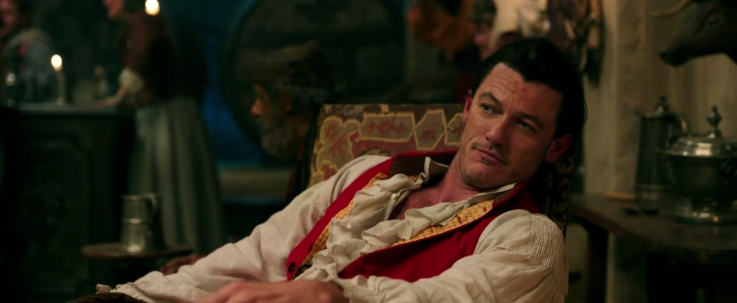 Luke Evans as Gaston in Beauty and the Beast Movie