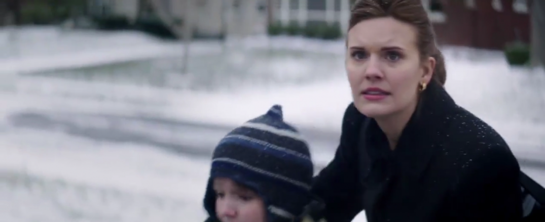 Maggie Grace in Aftermath movie