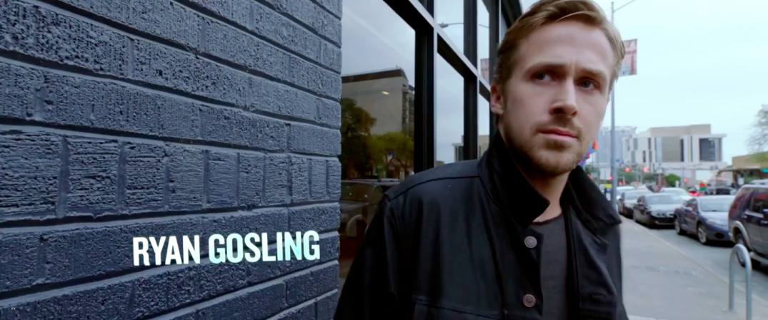 Ryan Gosling in Song to Song