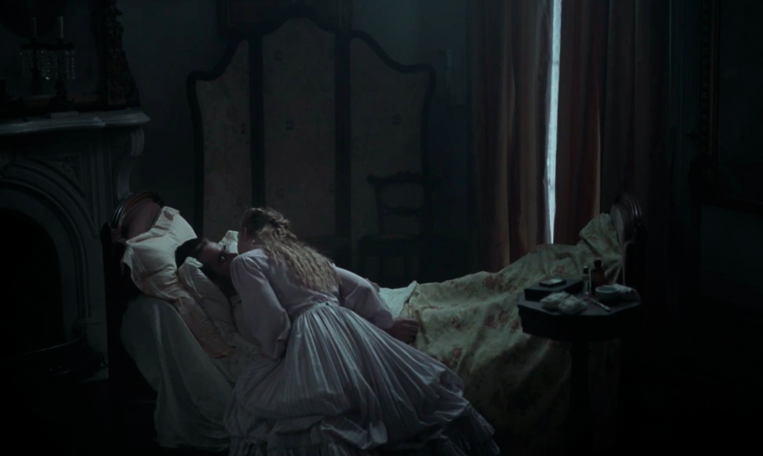 Colin Farrell and Elle Fanning in The Beguiled Movie