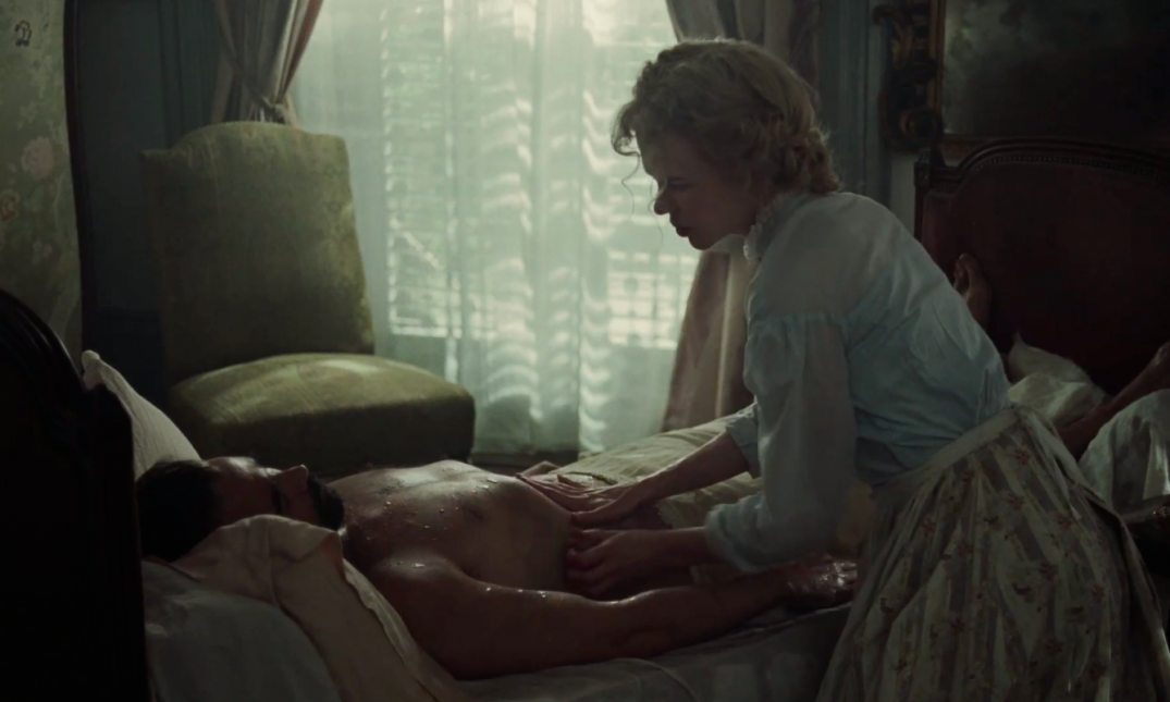 Nicole Kidman and Colin Farrell in The Beguiled Movie