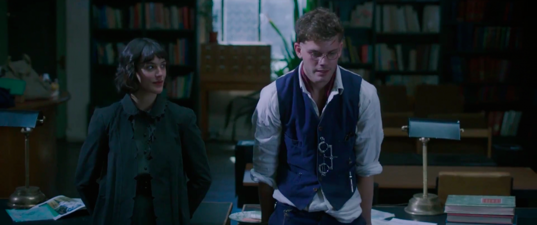 Jessica Brown Findlay and Jeremy Irvine in This Beautiful Fantastic Movie
