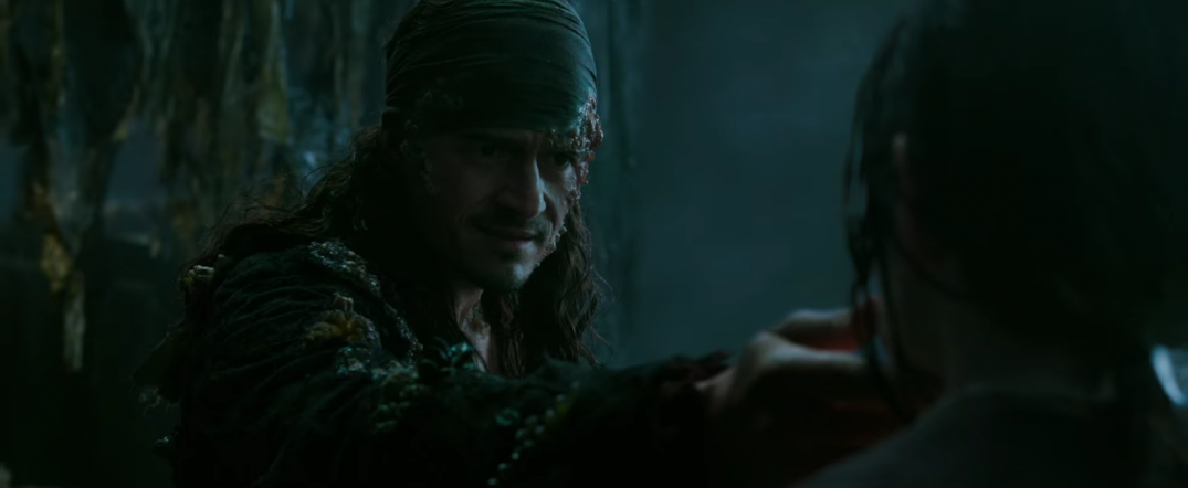 Orlando Bloom Pirates of the Caribbean Dead Men Tell No Tales Movie Image
