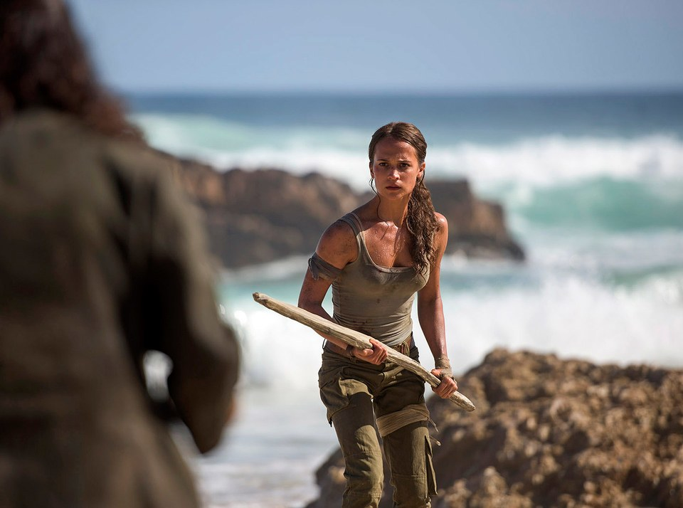 Alicia Vikander Lara Croft Reboot Movie Images