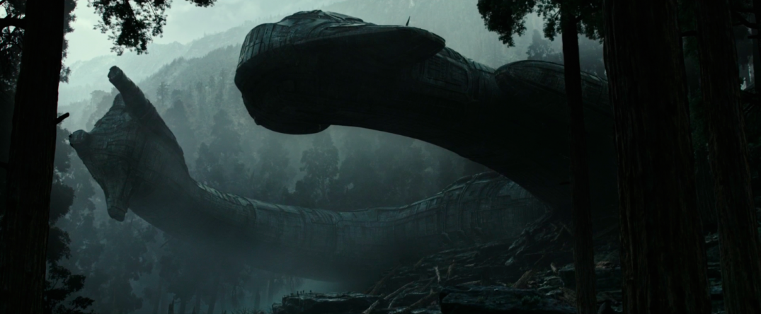 Alien Covenant Movie Trailer Screencaps Images Prometheus ship