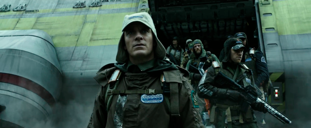 Alien Covenant Movie Trailer Screencaps Images Fassbender