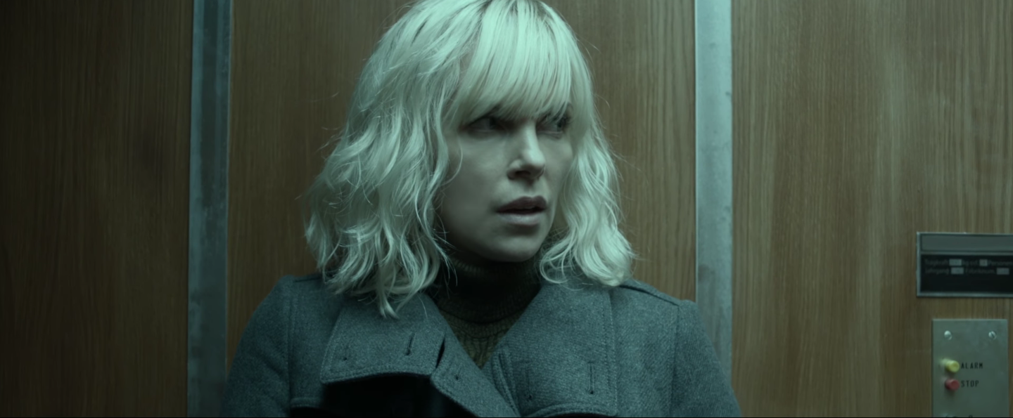 trailer for �atomic blonde� starring charlize theron