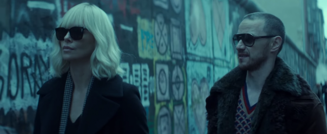 Atomic Blonde Movie Charlize Theron James McAvoy