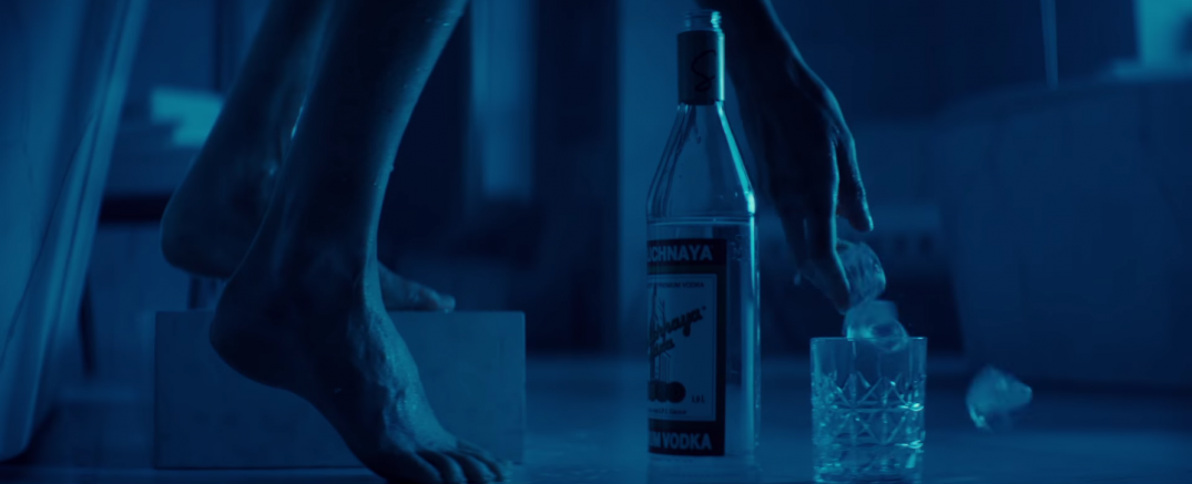 Atomic Blonde Movie Charlize Theron vodka