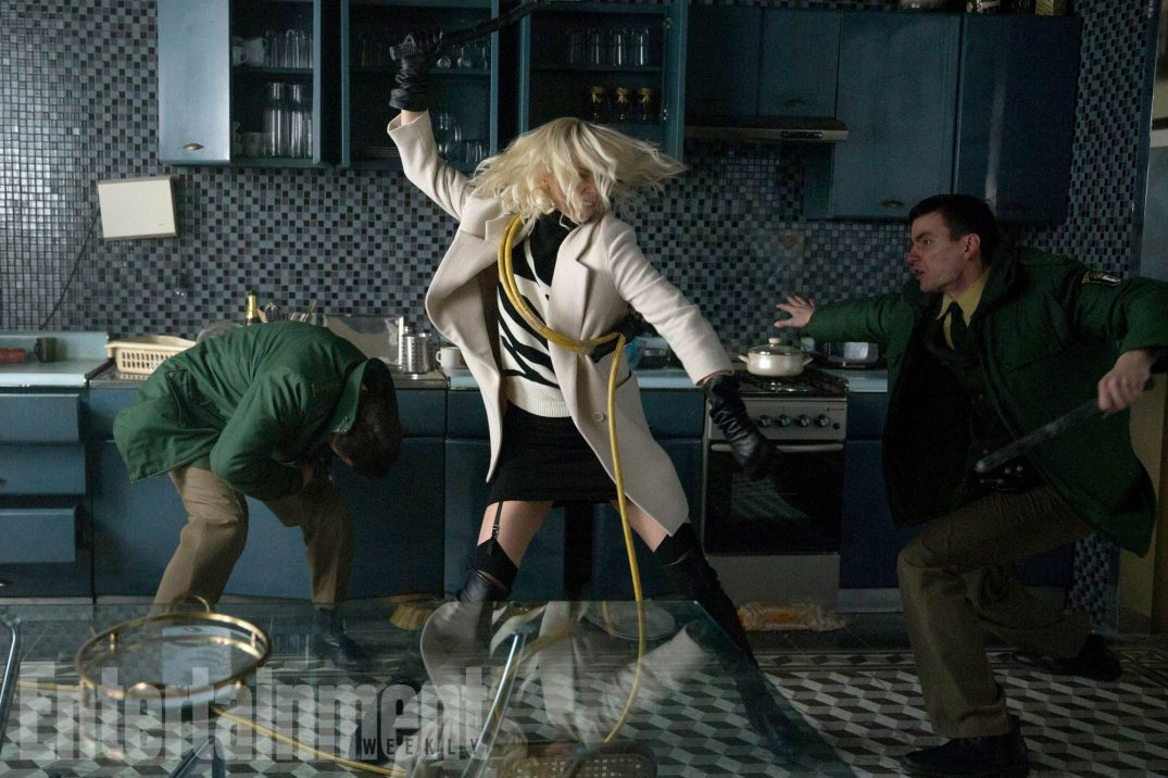 Coldest City Charlize Theron Movie Atomic Blonde