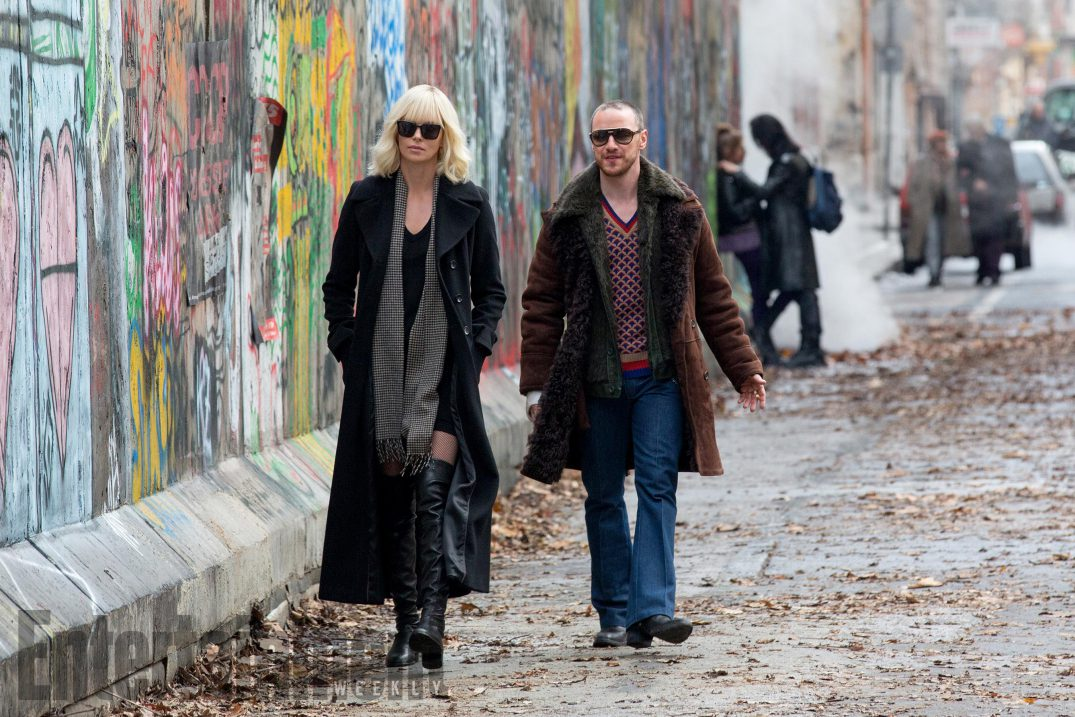 Coldest City Charlize Theron Movie Atomic Blonde James McAvoy