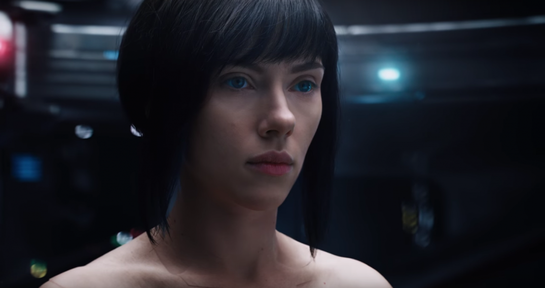 Ghost in the Shell Movie Images Major Scarlett Johansson