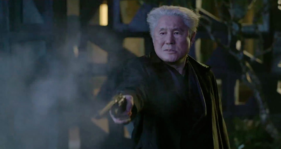 Ghost in the Shell Movie Takeshi Kitano as Daisuke Aramaki