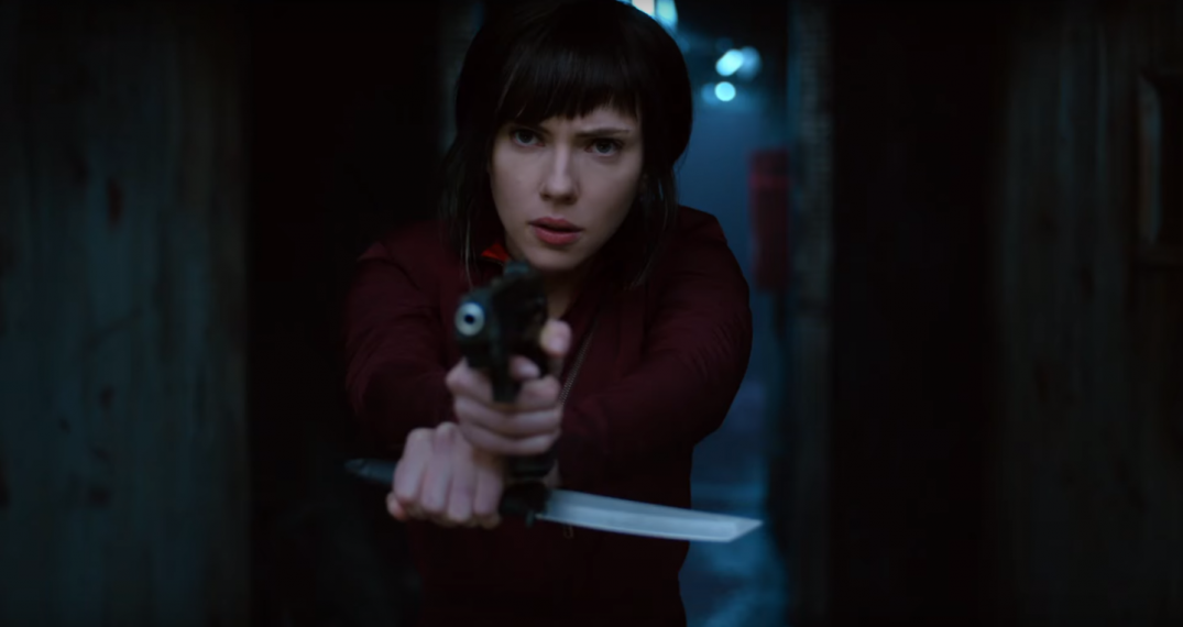 Ghost in the Shell Movie Images Scarlett Johansson as Major