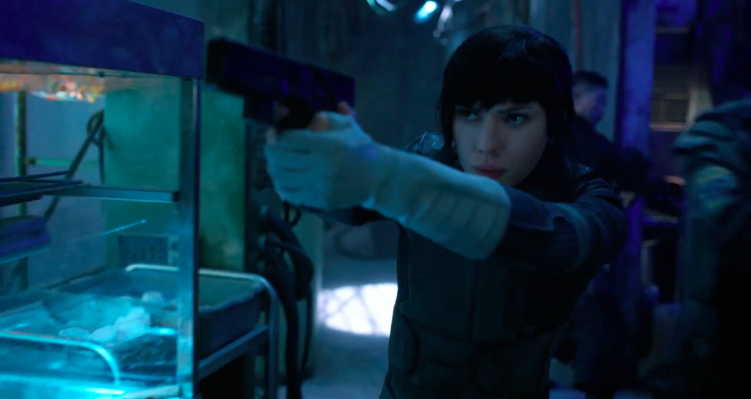 Ghost in the Shell Movie Scarlett Johansson as Major