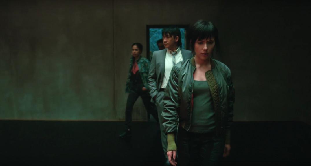 Ghost in the Shell Movie Images Scarlett Johansson Major
