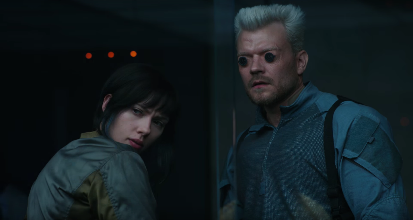 New Poster And Footage From 'Ghost In The Shell