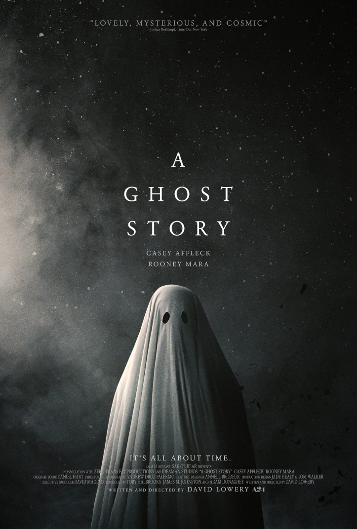 A Ghost Story Hi Res Movie Poster David Lowery Casey Affleck Rooney Mara