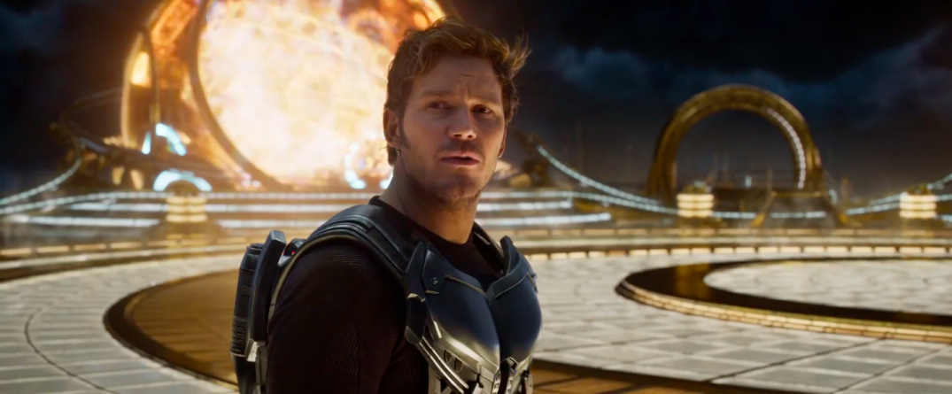 Guardians of the Galaxy Vol. 2 Trailer Screencaps Chris Pratt Star Lord
