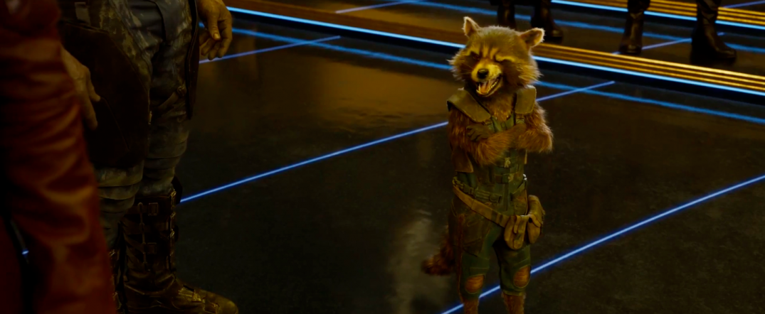 Guardians of the Galaxy Vol. 2 Trailer Screencaps Rocket Raccoon