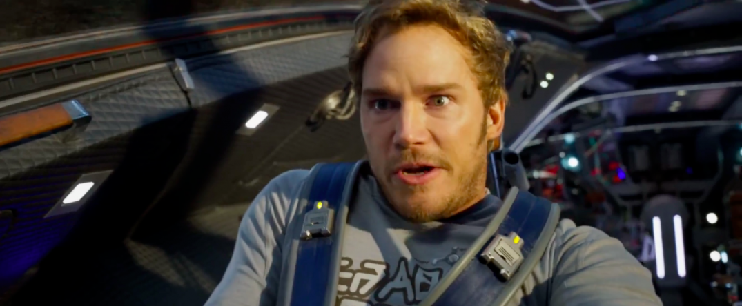 Guardians of the Galaxy Vol. 2 Trailer Screencaps Star Lord Chris Pratt