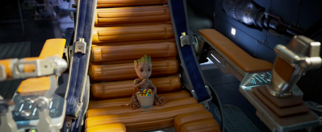 Guardians of the Galaxy Vol. 2 Trailer Screencaps Baby Groot