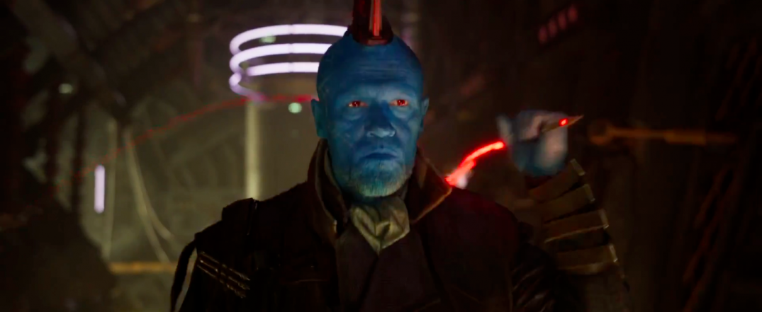 Guardians of the Galaxy Vol. 2 Trailer Screencaps Michael Rooker Yondu