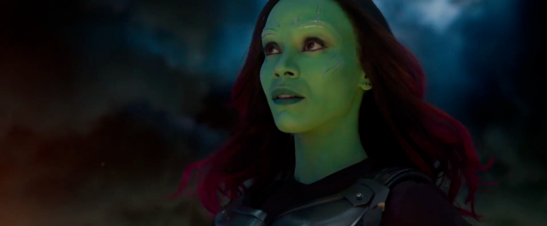Guardians of the Galaxy Vol. 2 Trailer Screencaps Gamora