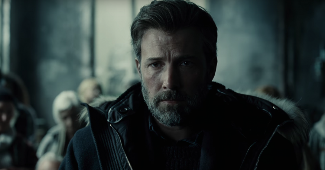 Justice League Ben Affleck Batman Movie Images Trailer