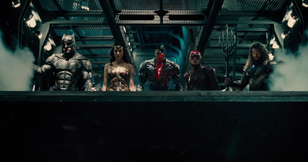 Justice League Movie Images Zack Snyder Gal Gadot Wonder Woman Ben Affleck Batman The Flash Ezra Miller Ray Fisher Cyborg