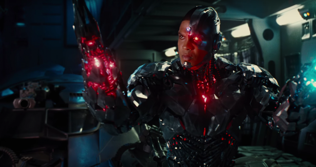 Justice League Movie Trailer Ray Fisher Cyborg