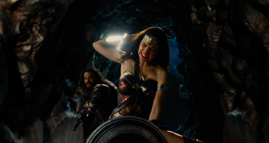 Justice League Movie Trailer Images Screencaps Wonder Woman