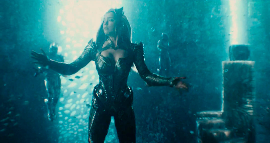 Justice League Movie Trailer Images Screencaps Amber Heard Mera