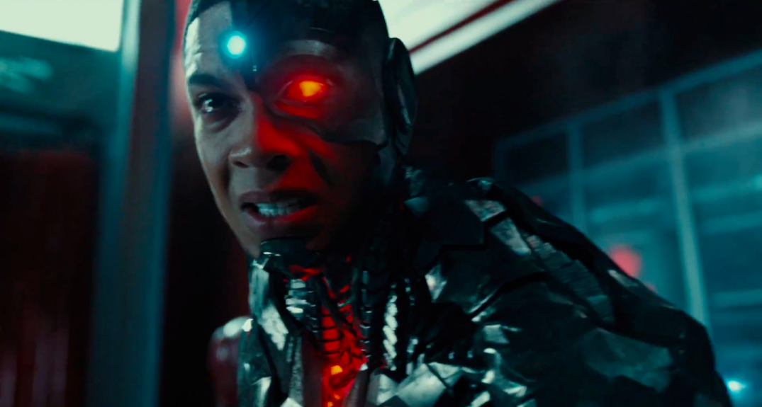 Justice League Movie Trailer Images Screencaps Ray Fisher Cyborg